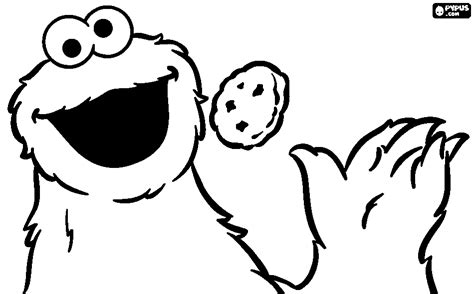 monster face coloring pages