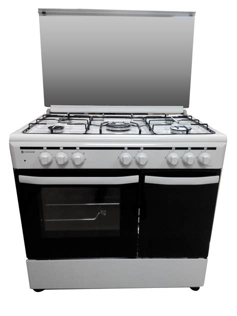 Range Toaster gas range in stainless steel gas oven stove