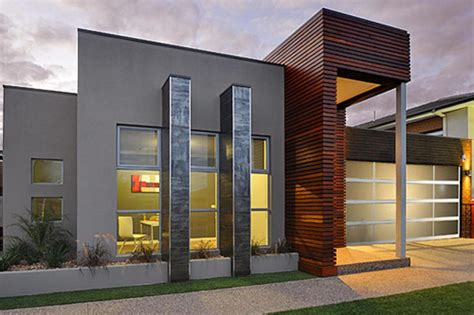 house modern design home designs single storey contemporary home designs