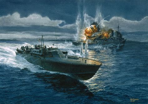 pt boat action reports pt boats pacific paratrooper
