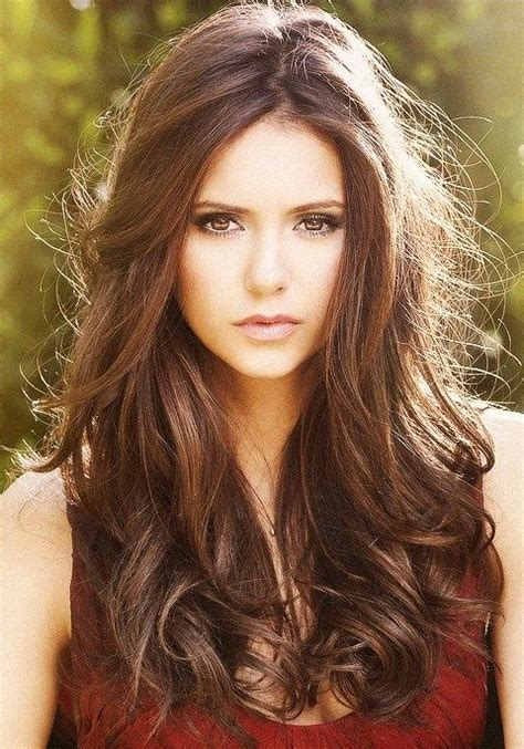 hairstyles diaries nina dobrev hairstyles shaggy waves pretty designs