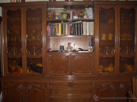 mueble salon comedor estilo luis xvi comprar vitrinas