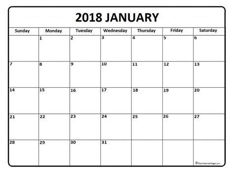 february calendar 2018 printable template free printable calendar