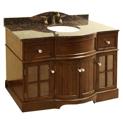 48 Granite Vanity Top granite top 48 inch single sink bathroom vanity 13713466 overstock shopping great deals