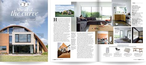 hotel magazine layout grand designs magazine house feature layout design on behance