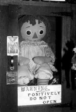 annabelle doll notes from mental floss 10 dolls that will keep you ghost