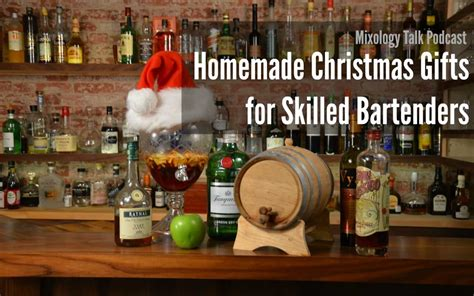 podcast christmas presents gifts for skilled bartenders mixology talk podcast