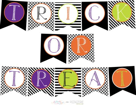 printable halloween birthday banner download free halloween printables collection pizzazzerie