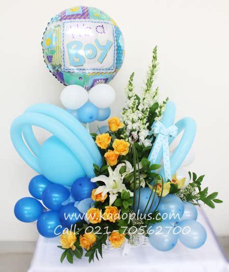 Balon New Baby Keranjang by Rangkaian Balon Bunga Bayi Balloons More 1 Kadoplus