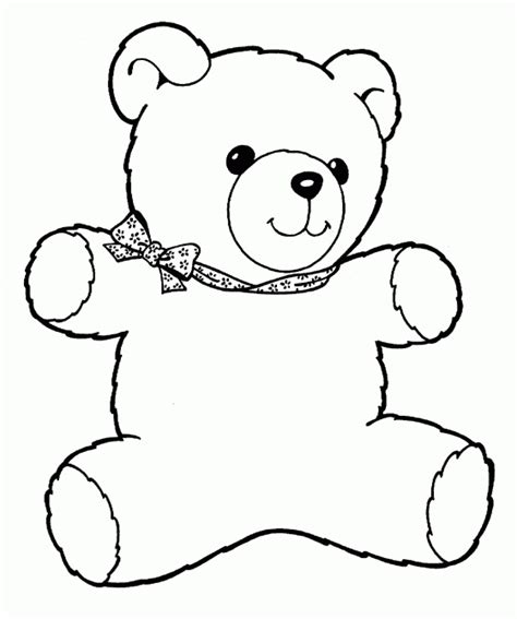 bear coloring pages for preschoolers teddy bear coloring pages for kids