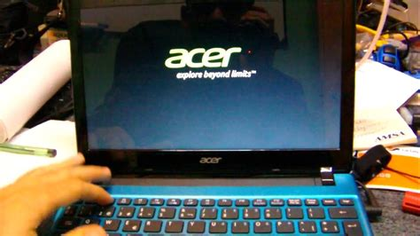 Laptop Acer Aspire One 756 Win 8 how to remove windows 8 and install windows 7 in an acer