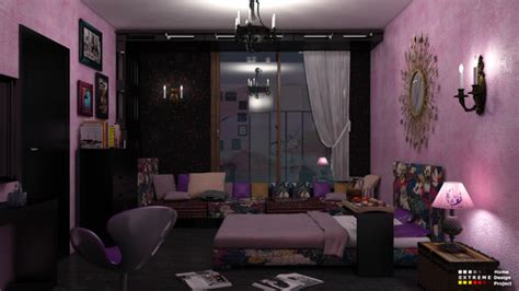 extreme bedrooms teenager bedroom contemporary rendering other metro