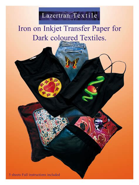 heat transfer paper create your own t shirts iron on