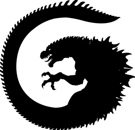 neo godzilla logo by art minion andrew0 on deviantart