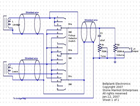 wiring diagram for ibanez soundgear b guitar guitar