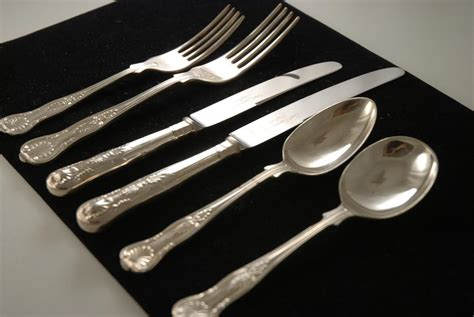 Design For Copper Flatware Ideas A Silver Plate Flatware Set In The Pattern