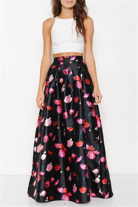 latiste by floral maxi skirt from by high