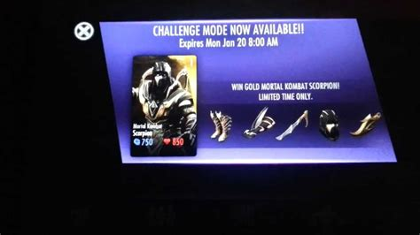 injustice ios scorpion challenge for the new year 2014