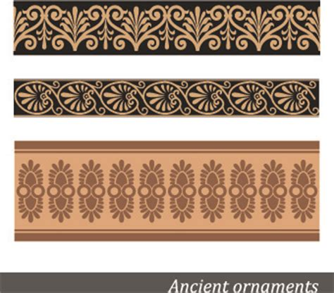 roman pattern vector vector ancient roman motifs free vector download 811 free