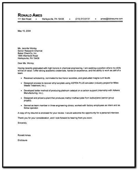 unsolicited resume cover letter sle cover letter for unsolicited resume cover letter
