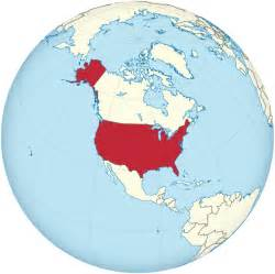 usa map in globe file united states on the globe america centered svg