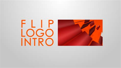 logo intro after effects template original flip logo intro after effects template