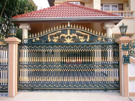 iron home boundary wall design gate gate sles pinterest