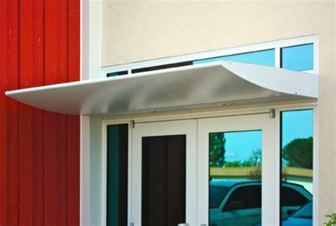 sheet metal awning portfolio metal awnings