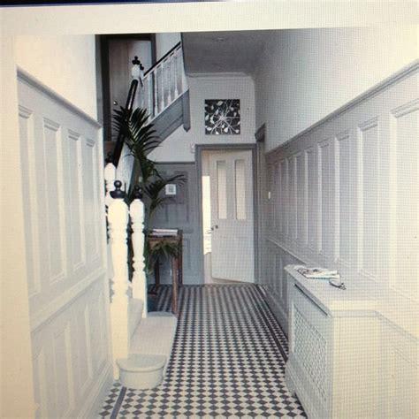 black and white hallway ideas hallway pinterest