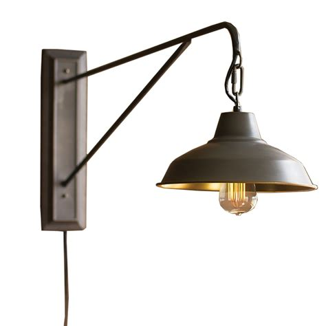 Farmhouse Wall Sconce Farmhouse Industrial Modern In Wall Sconce Woodwaves