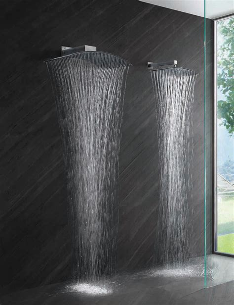 modern bathroom shower best shower heads for modern eco friendly bathrooms