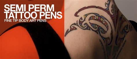 tattoo non permanent quebec semi permanent tattoo pen stargazer cosmetics