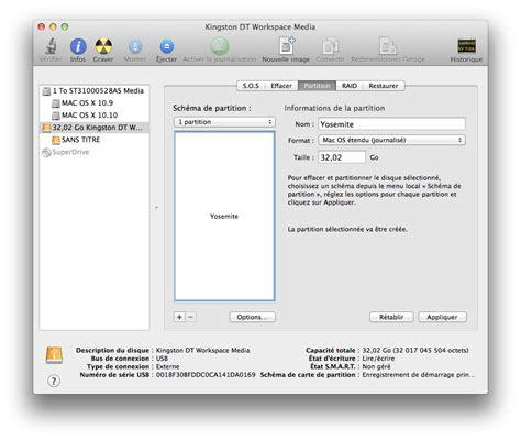 format exfat pour mac et pc cr 233 er un disque usb yosemite bootable lemagtechno