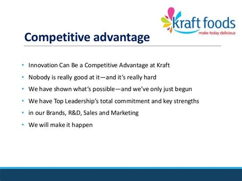 Kraft Foods Mba Program by Kraftanalysis2