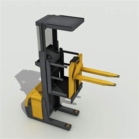 order picker 3d model ready max tga unitypackage cgtrader