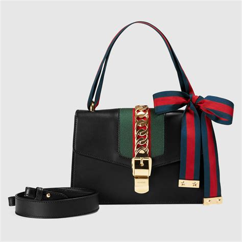 Gucci Handmade Bag - sylvie leather shoulder bag gucci s handbags