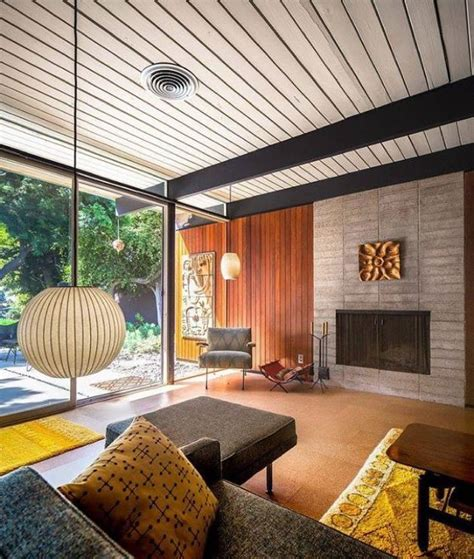 Mid Century Modern Interiors The Craig Ellwood Bobertz Residence A And His House
