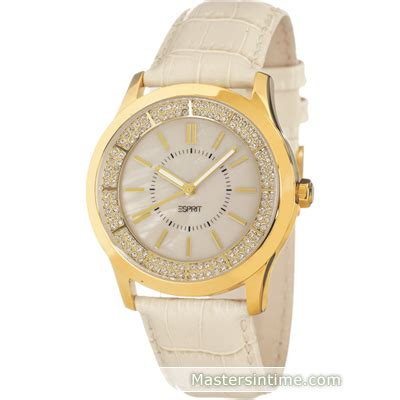 Esprit Gold White esprit es103812005 circuit glam gold white