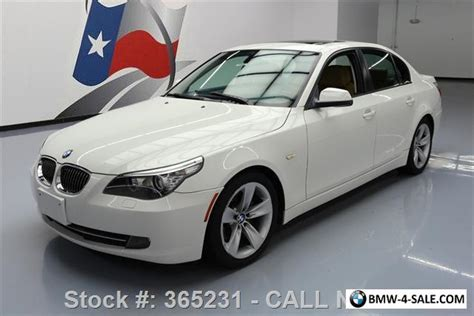 2010 bmw 5 series 528i sport automatic heated seats sunroof for sale in united states