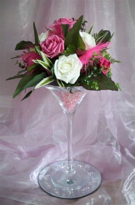 Martini Vases For Weddings by For Hire Martini Glass Vase Centrepiece Wedding