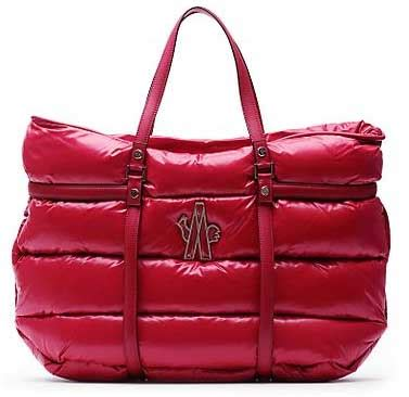 Moncler Oversized Coussin Lacquered Handbag by Moncler S Oversized Puffer Handbag At Least It Ll Stay
