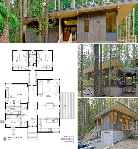 modern cottage floor plans contemporary cottage on pinterest 3d house plans condo