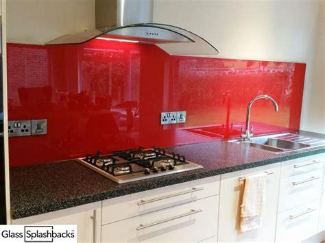 bespoke glass kitchen splashbacks coloured glass splashbacks 21 best red orange glass splashbacks images on pinterest