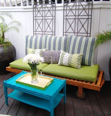 Repurposed Patio Furniture Affordable Repurposed Furniture To Your New Apartment