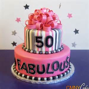 Fabulous is the inspiration behind this 50th birthday cake idea here