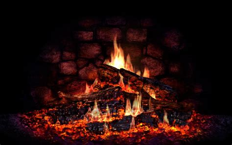 9 lovely hd fireplace wallpapers hdwallsource