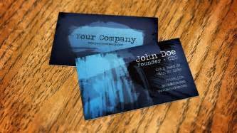 how to make business card how to create a business card mockup using smart objects