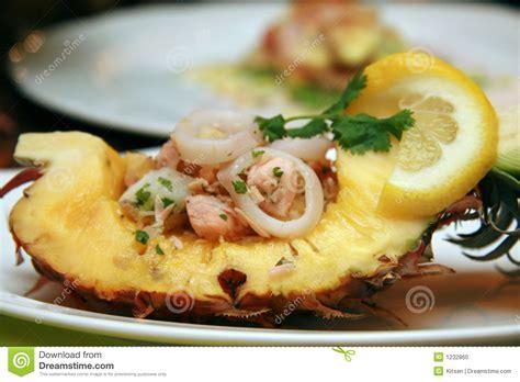 Seafood Salad Stock Photo - Image: 1232860