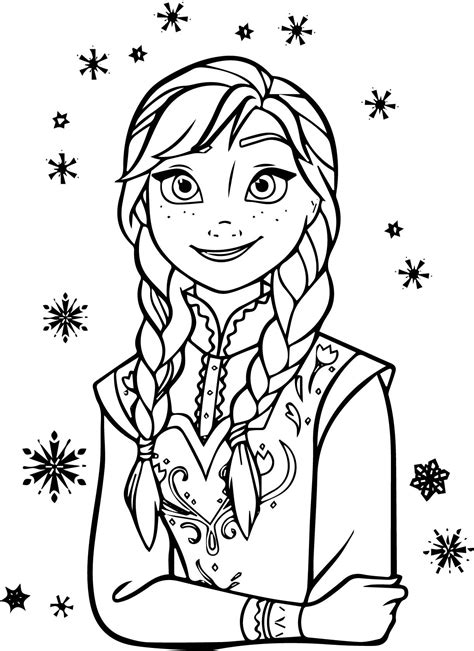 frozen coloring pages high quality frozen anna coloring pages inspirational anna coloring