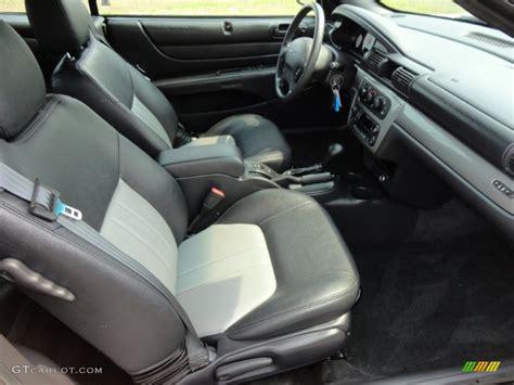 2004 chrysler sebring gtc convertible interior photo